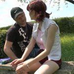 lisa etudiante rousse au petit cul rose initiee a la baise en plein air 150x150 - Une femme nymphomane passe son casting sexe